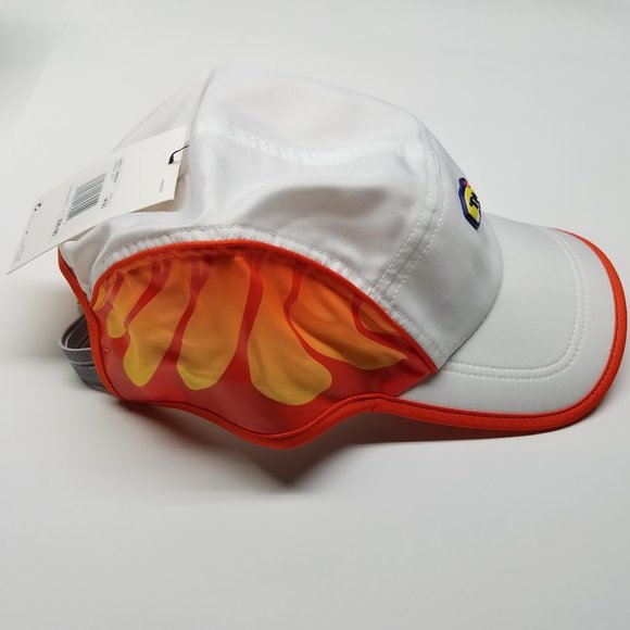 NIKE AIR TN CAP RED DRI FIT AW84 REFLECTIVE ADJUSTABLE ONE SIZE FITS MOST NEW